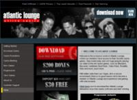Atlantic Lounge Casino Website ScreenShot