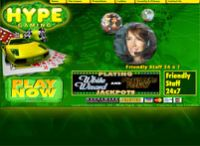 Hype Gaming Casino Website ScreenShot