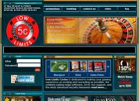 Low Limits Casino Website ScreenShot