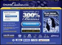 Online Casino Website ScreenShot