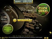 Win A Day Casino Website ScreenShot