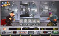 Cash Caper CryptoLogic Bonus 1