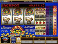 Cash Splash Microgaming Slot Reels