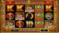 Golden Princess Microgaming Slot Reels