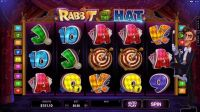 Rabbit in the Hat Microgaming Slot Reels