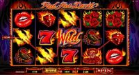 Red Hot Devil Microgaming Slot Reels