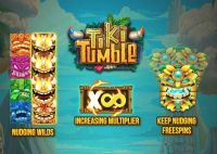 Tiki Tumble Push Gaming Info
