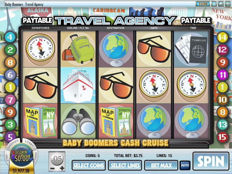 Baby Boomers Cash Cruise Rival Slot Reels