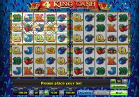 4 King Ca$h Novomatic Slot Slot Reels