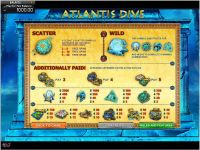 Atlantis Dive GamesOS Slot Info