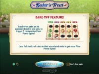 Baker's Treat Play'n GO Slot Bonus 1