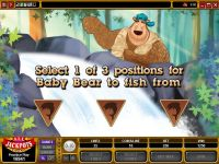 Bearly Fishing Microgaming Slot Bonus 1