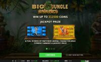 Big 5 Jungle Jackpot StakeLogic Slot Bonus 1