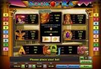 Book of Ra Novomatic Slot Info