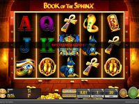 Book of the Sphinx GTECH Slot Slot Reels