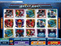 Break Away Microgaming Slot Slot Reels