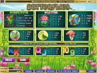 Butterflies WGS Technology Slot Info