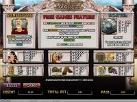 Call of the Colosseum Amaya Slot Info