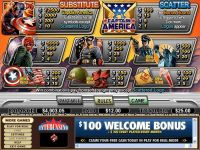 Captain America CryptoLogic Slot Info