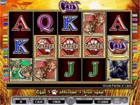 Cats IGT Slot main