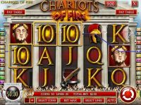 Chariots of Fire Rival Slot Slot Reels