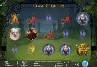 Clash of Queens Genesis Slot Slot Reels