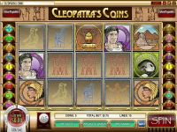 Cleopatra's Coin Rival Slot Info
