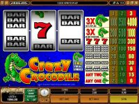 Crazy Crocodile Microgaming Slot Slot Reels
