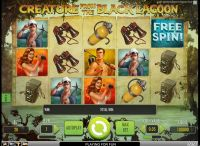 Creature from the Black Lagoon NetEnt Slot Slot Reels