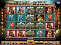 Crown of Egypt IGT Slot main