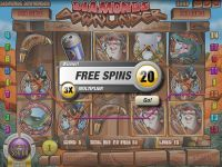 Diamonds Downunder Rival Slot Bonus 1