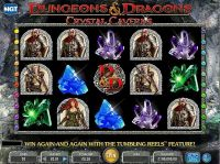 Dungeons & Dragons - Crystal Caverns IGT Slot main