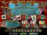 Fame and Fortune RTG Slot Info