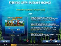 Fishing With Buddies PlayTech Slot Bonus 1