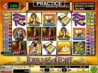 Fortunes of Egypt GTECH Slot Bonus 1