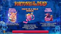 Fortunes of the Dead SideCity Slot Info