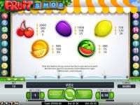 Fruit Shop NetEnt Slot Info