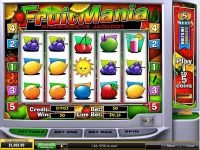 FruitMania PlayTech Slot Slot Reels