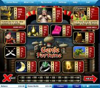 Genie Fortune Leap Frog Slot Info