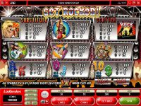 Get Rocked Microgaming Slot Info