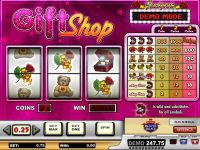 Gift Shop Play'n GO Slot Slot Reels