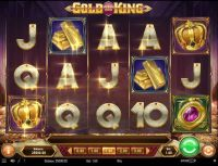 Gold King Play'n GO Slot Slot Reels