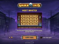 Golden Colts Play'n GO Slot Bonus 1