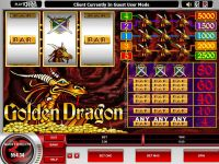 Golden Dragon Microgaming Slot Slot Reels