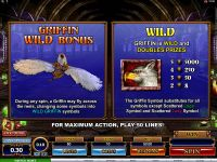 Great Griffin Microgaming Slot Bonus 1