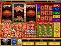 Happy New Year Microgaming Slot Slot Reels
