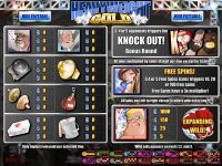 Heavyweight Gold Rival Slot Info