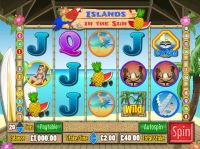 Islands in the Sun Wagermill Slot Slot Reels