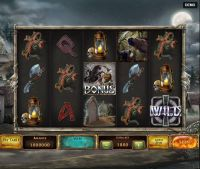 Jack O'Lantern Red Rake Gaming Slot Slot Reels