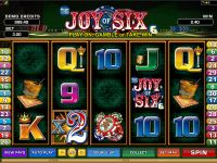 Joy of Six Microgaming Slot Slot Reels